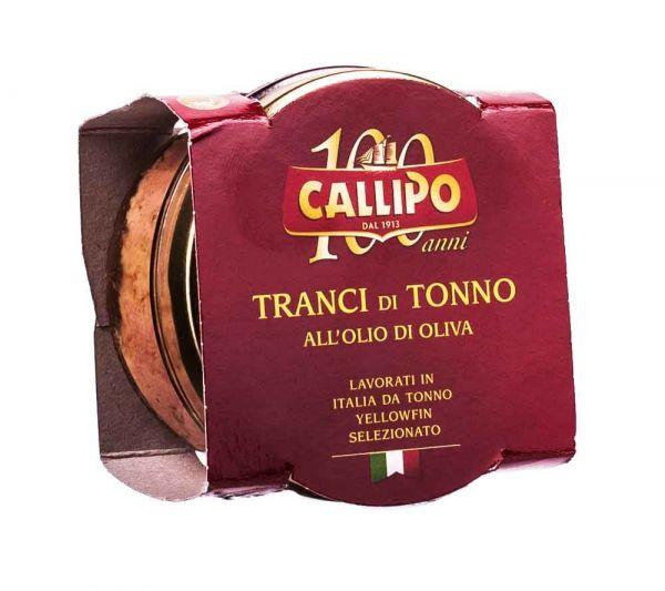 Callipo   Gelbflossen Thunfisch in Olivenöl   160g