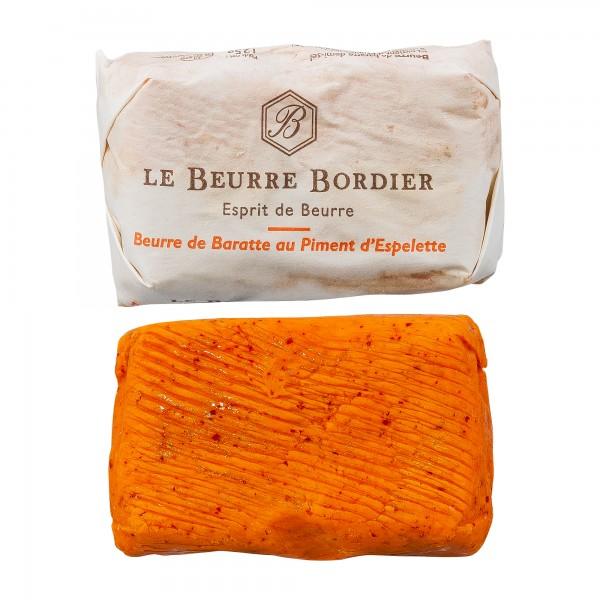 Bordier | Fassbutter mit Piment d´Espelette | 125g