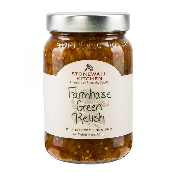 Stonewall Kitchen   Farmhouse Green Relish   Hot Dog Sauce