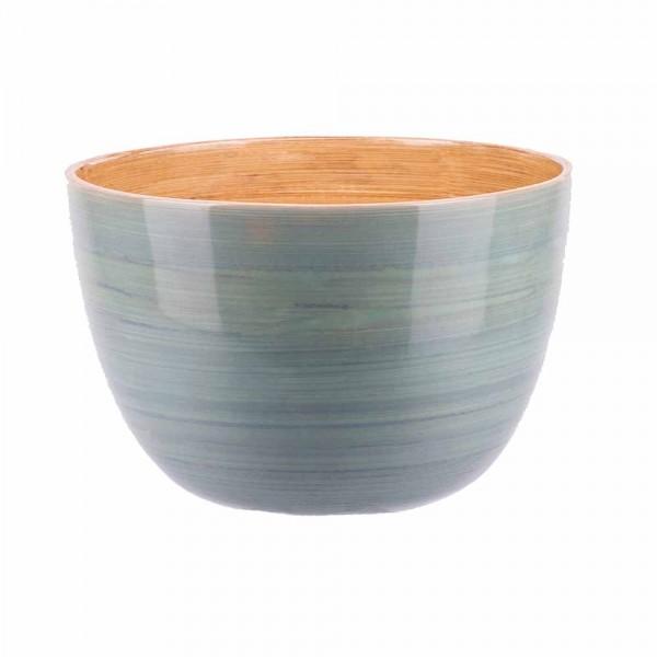 Albert L Schüssel Bambus 15x10 eisblau