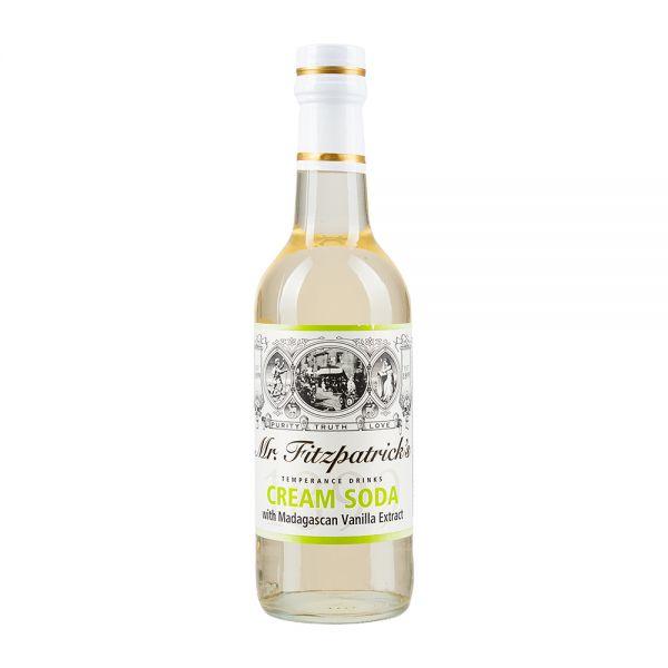 Mr Fitzpatricks | Vanille Sirup | Cream Soda Cordial | alkoholfrei