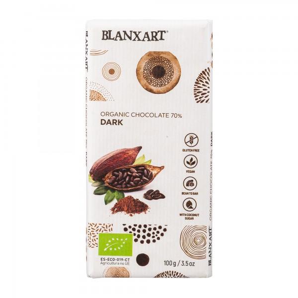 Blanxart | Schokolade mit Kokosblütenzucker | 70% [BIO]