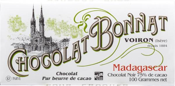 Bonnat Schokolade Madagascar 75%