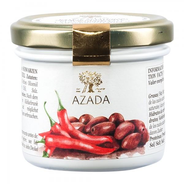 Azada OliAzada | Paté aus schwarzen Oliven und Chili | 100g