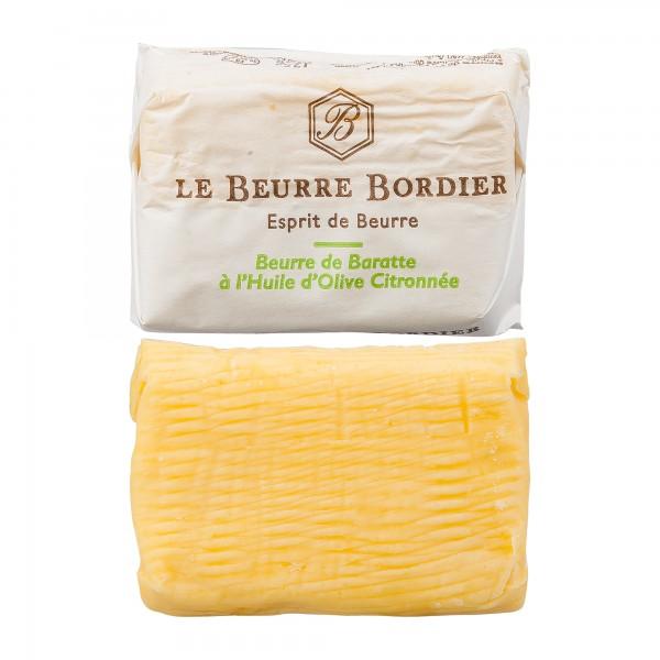 Bordier | Fassbutter mit Zitrone | 125g