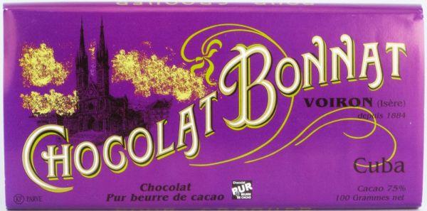 Bonnat Schokolade | Cuba 75% | dunkle Schokolade