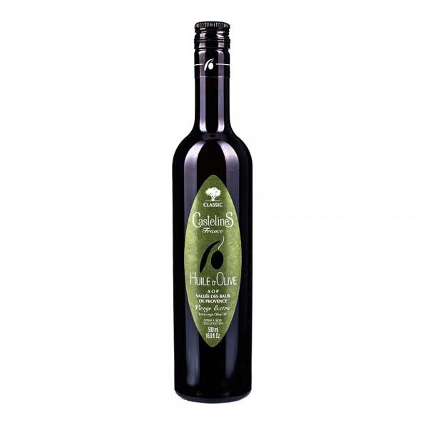 Castelas Olivenöl Extra Nativ de la Vallee des Baux de Provence 500ml