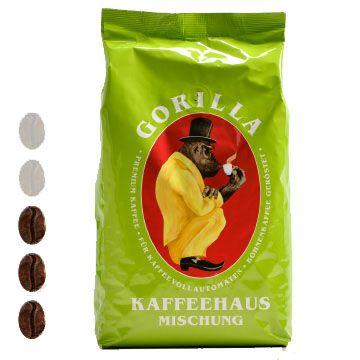 Gorilla Kaffee | Kaffeehaus Mischung | Grün | 1kg
