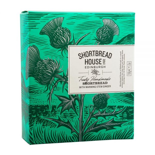 Shortbread House | Mini Shortbread Ingwer