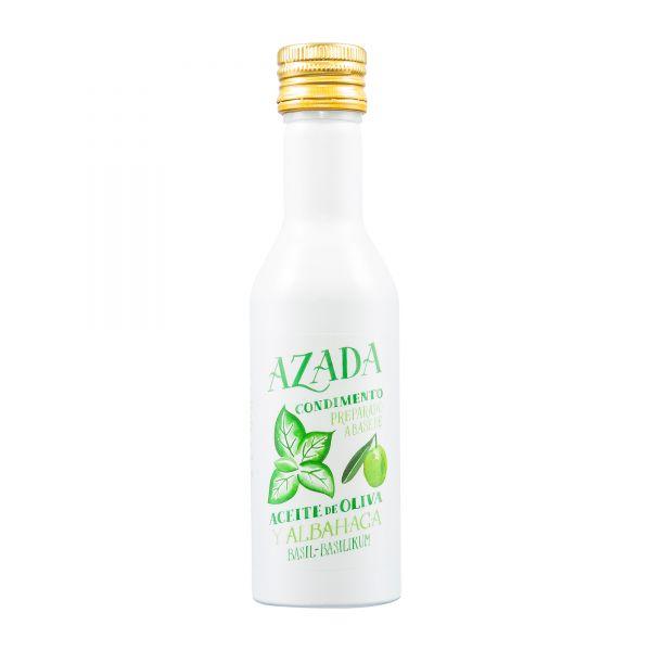 Azada | Olivenöl mit Basilikum | 225ml