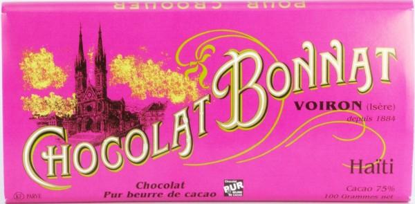Bonnat Schokolade | Haiti 75% | dunkle Schokolade