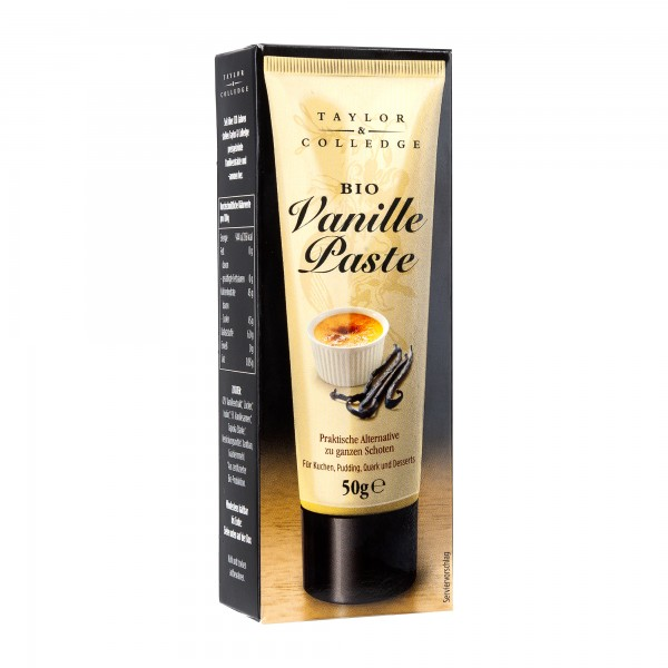 Taylor & Colledge | Vanilla Bean Paste | 50g [BIO]