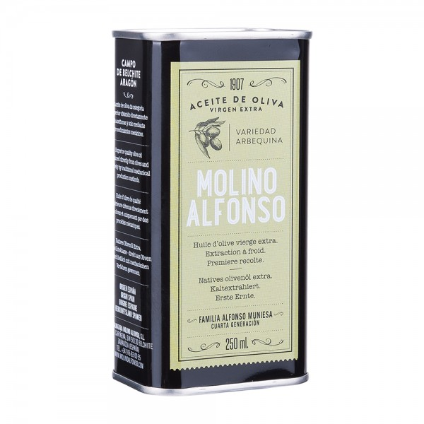 Molino Alfonso Natives Olivenöl Extra Arbequina 250ml