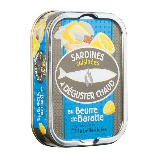 La belle-iIloise | Sardinen zum Braten mit Fassbutter | 115g