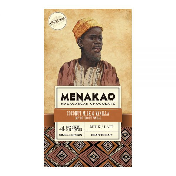 Menakao | Schokolade Kokosmilch Vanille