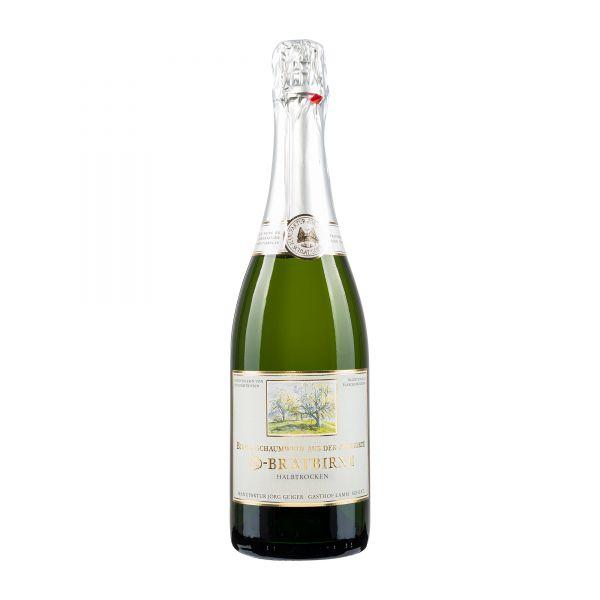 Manufaktur Jörg Geiger Schaumwein von der Champagner Bratbirne halbtrocken