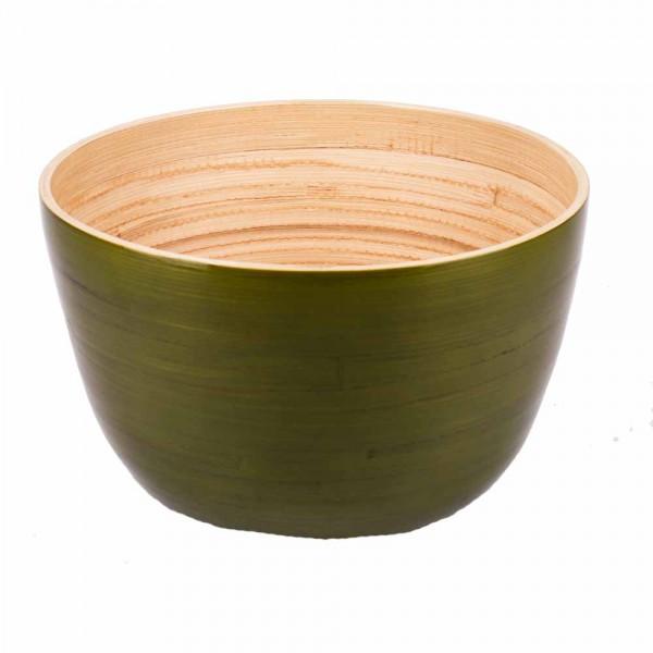 Albert L Schüssel Bambus 22x14 grasgrün