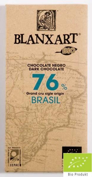 Blanxart Schokolade Zartbitter Brasilien 76% [BIO]