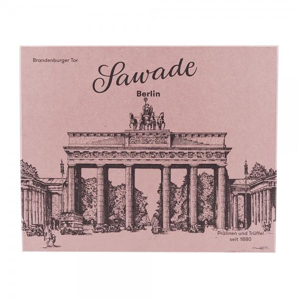 Sawade Pralinen und Trüffel Schachtel Brandenburger Tor