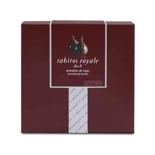 Rabitos Royale Dark | Feigen Pralinen | 8er Box