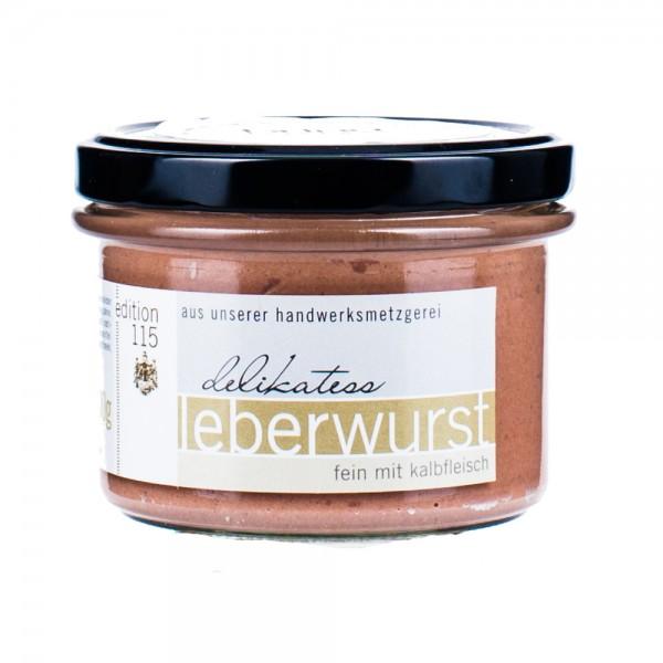 Faber Feinkost | Leberwurst mit Kalbfleisch | 200g