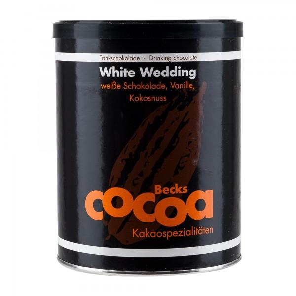 Becks Cocoa | White Wedding | Kakao 250g