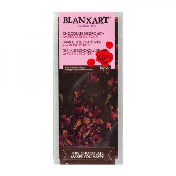 Blanxart Schokolade Rosenblüte