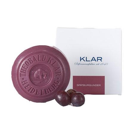 Klar Seifen | Weinseife Spätburgunder | palmölfrei | 150g