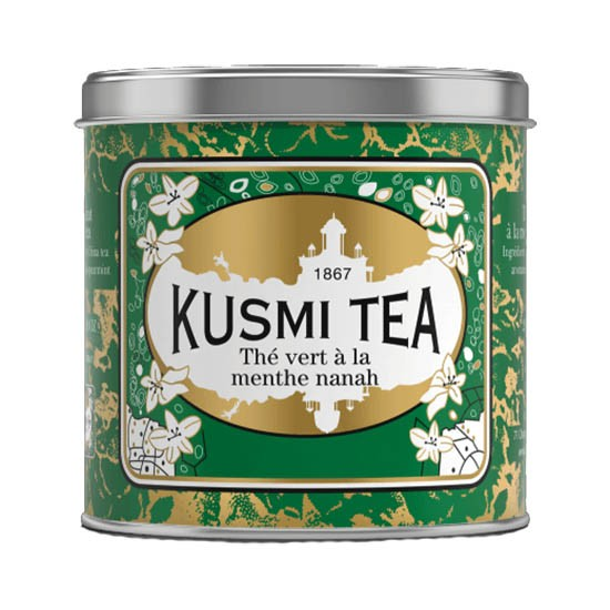 Kusmi Tee Grüner Tee mit Nanah Minze 250g Dose