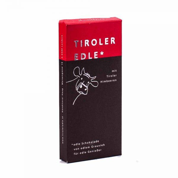 Tiroler Edle | Schokolade mit Tiroler Himbeeren