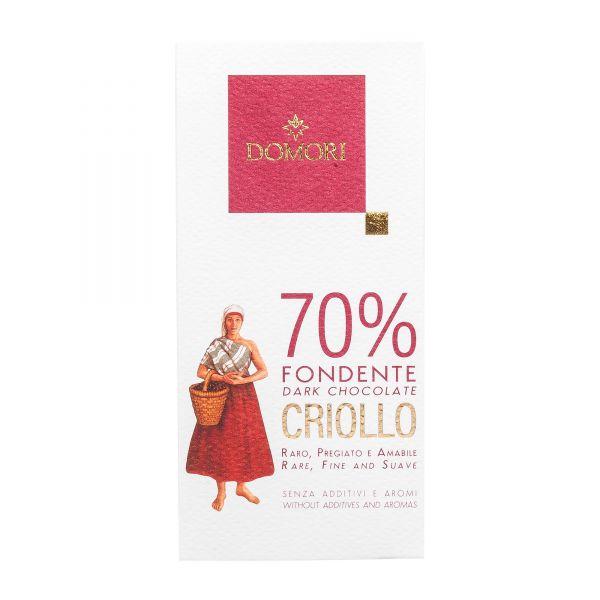 Domori Schokolade | Criollo 70% | 50g