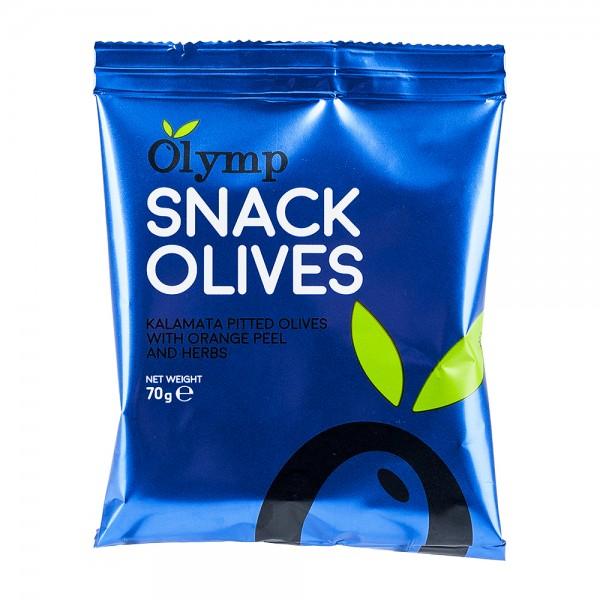 Olymp Snack-Oliven | Kalamata Oliven | Orange & Kräuter