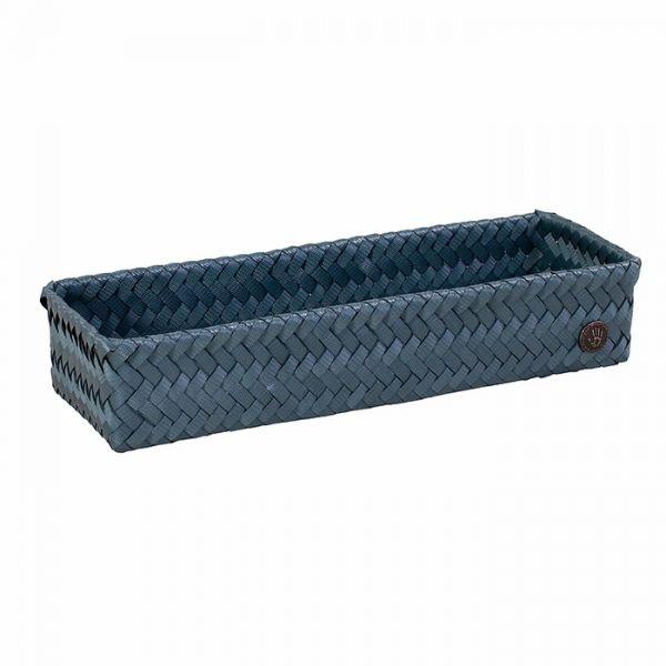 Handed By Korb   Fit Long   Steel Blue