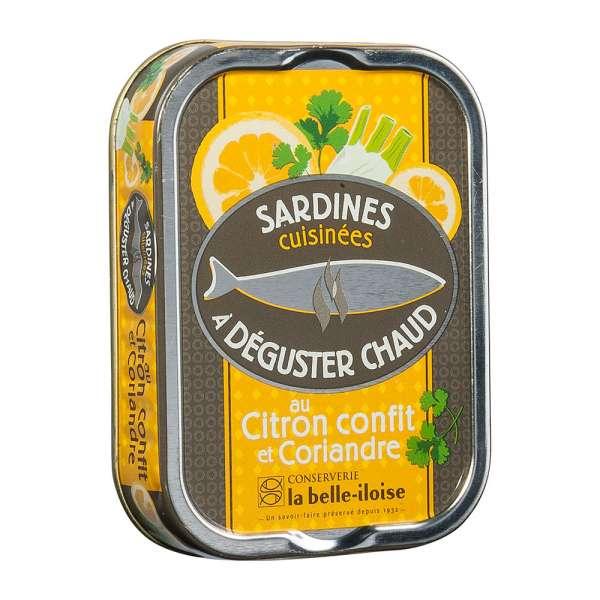 La belle iIoise | Sardinen zum Braten mit Zitrone und Koriander | 115g