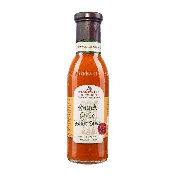 Stonewall Kitchen   Roasted Garlic Peanut Sauce   Erdnusssauce