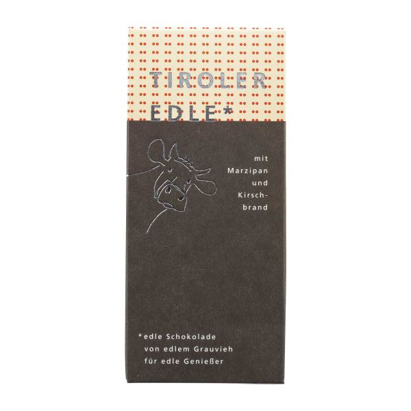 Tiroler Edle | Schokolade Marzipan Kirschbrand