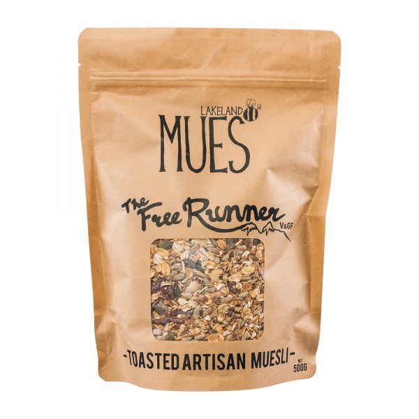 Lakeland Mues | The Free Runner Müsli | 500g