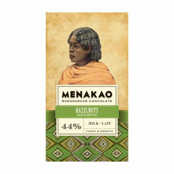 Menakao Milchschokolade mit Haselnuss