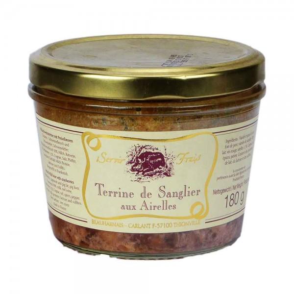 Beauharnais | Wildschweinpastete mit Preisselbeeren | 180g