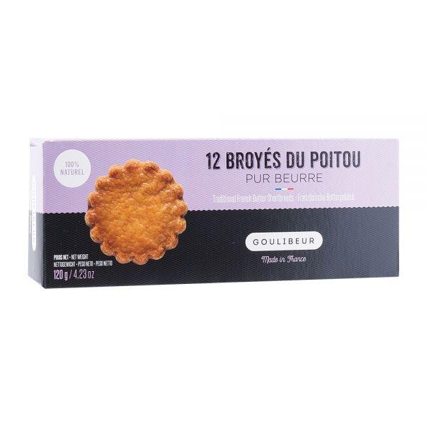Goulibeur | Galettes | 12 Broyés du Poitou | Butterplätzchen