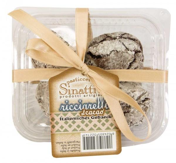 Pasticcerie Sinatti Ricciarelli con Cacao 140g Box