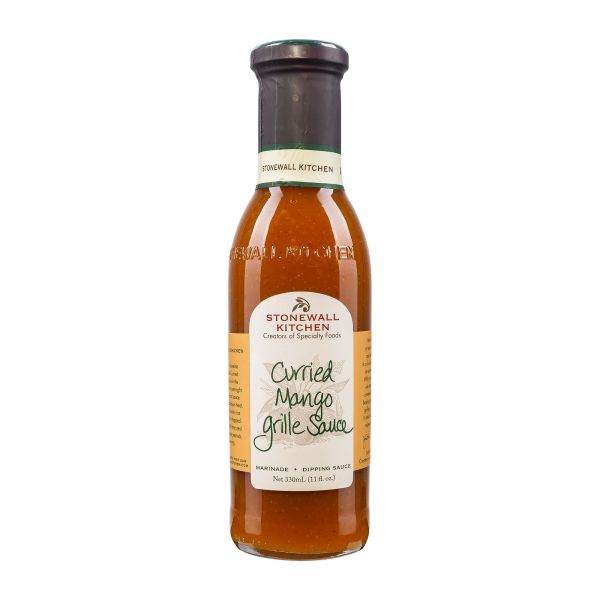 Stonewall Kitchen | Curried Mango Grille Sauce | Grillsauce