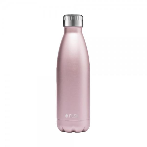 Flsk Trinkflasche Roségold 500ml