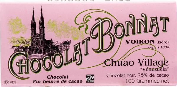 Bonnat Schokolade   Chuao Village 75%   Venezuela