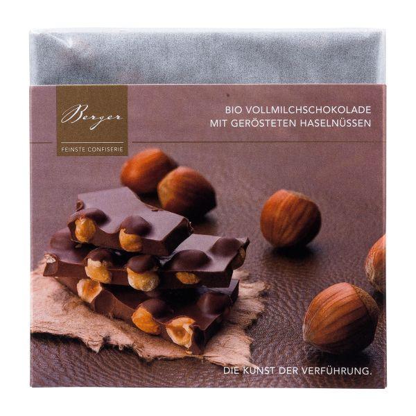Berger Schokolade | Vollmilch Haselnuss [BIO]