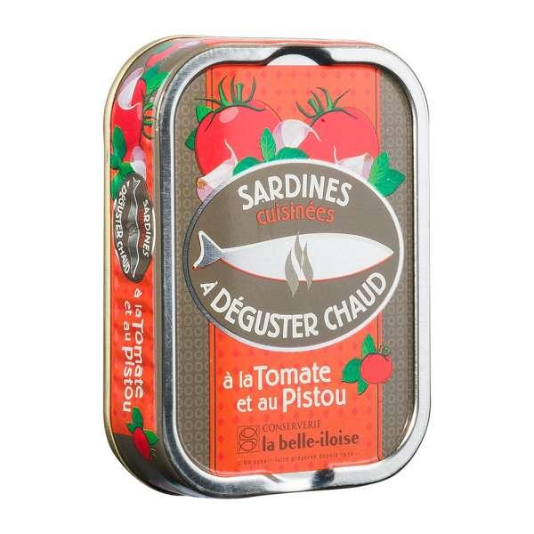 La belle-iIloise | Sardinen zum Braten mit Tomaten und Pistou | 115g