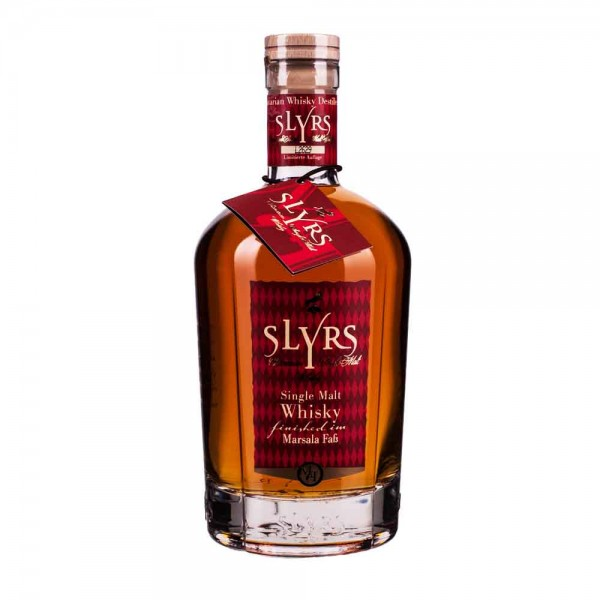 Slyrs Single Malt Whisky Marsala 46%