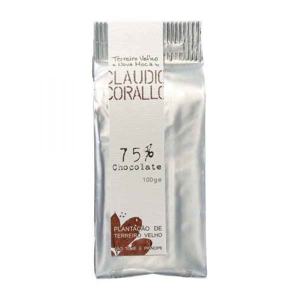 Claudio Corallo | Schokolade 75% | 100g