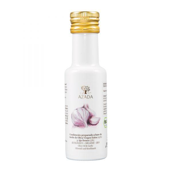 Azada | Olivenöl mit Knoblauch | 100ml