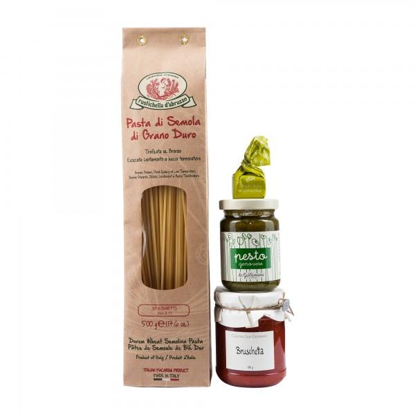 Kleines Spaghetti Geschenk